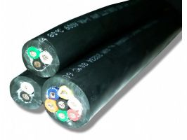 Straight Cable 16 Gauge with 7 Conductors - No Shield - 600 Volts